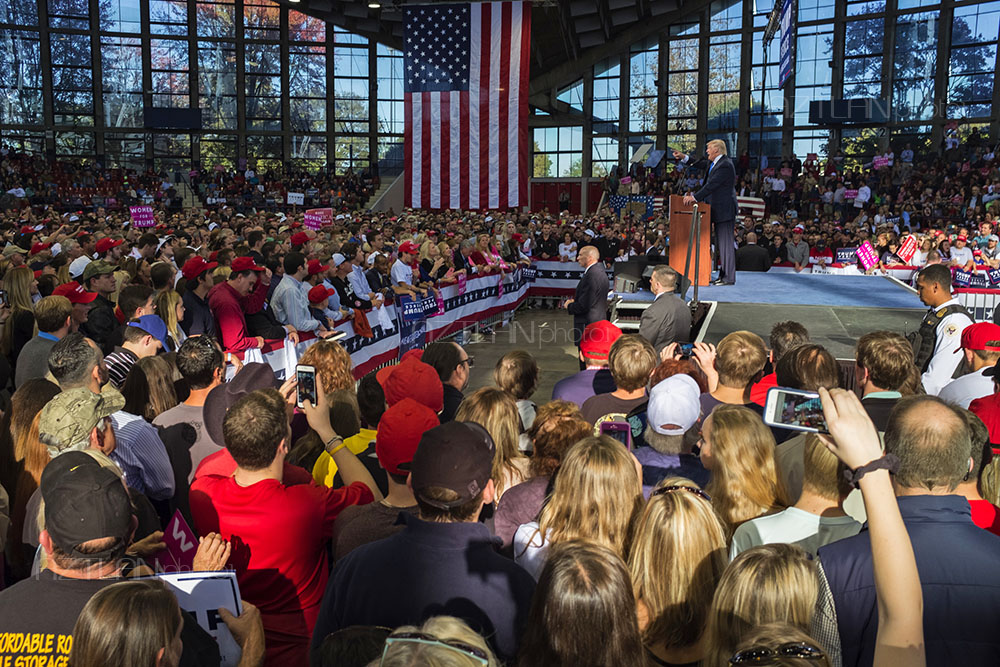 Donald Trump in North Carolina