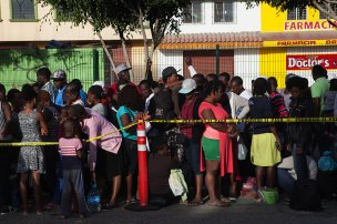 Thousands of Haitians and Africans arrive in Tijuana, Mexico, to seek asylum in the USA